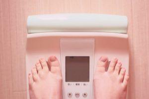 ダイエットと体重計